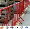 portable foldable crowd control barrier