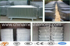 sequence control fence;walk though barrier;metal traffic barrier