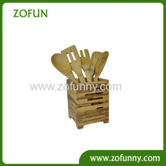 Natural Bamboo Utensil with holder box