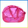 China wholesale clear PVC cosmetic bag swimming bathing organizer beach bag