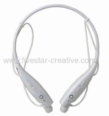 LG HBS730 White Wireless Bluetooth Stereo Neckband Headsets HBS-730