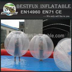Inflatable bumper ball for kids or adult
