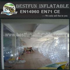 Durable PVC human bubble footbal bumper ball