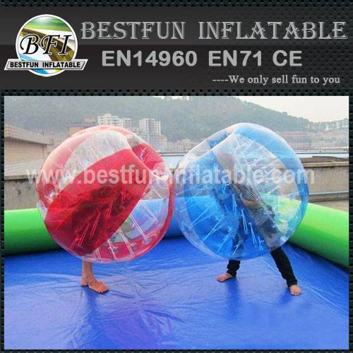 New outdoor bumping balls for adults