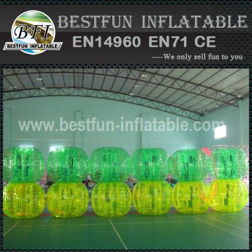 High visible clear bump plastic bubble ball