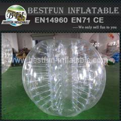 Outdoor inflatable belly bumper ball