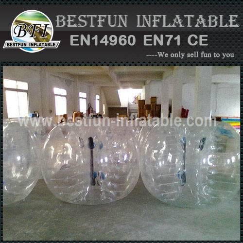 New design inflatable bump ball