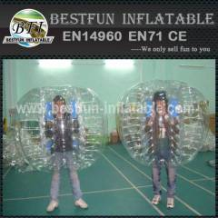 Inflatable Outdoor Play Clear Adult Bumper Ball