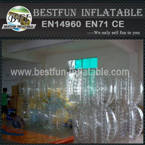 Inflatable body bumper with CE certificate