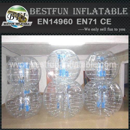 PVC inflatable human body zorb ball