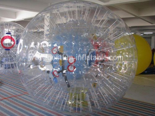 Inflatable football body zorb bumper ball