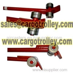 Crowbar also know as roller pinch bar