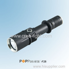 IPX6 High Power CREE XM-L T6 Tactical LED Flashlight POPPAS-F28