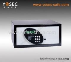 Digital hotel safe box with back lit keypad button