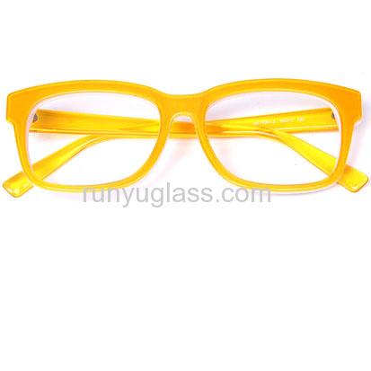 designer eyeglasses for women - Yellow Eyeglass Frames