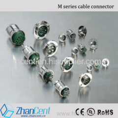 mic connector GX12 4pin round series cable connector with CE Rohs certified