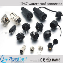 Bayonet 2-10pin Conxall brand plastic waterproof connector