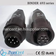 3+PE 6+PE amphenol C016 waterproof plastic circular connector