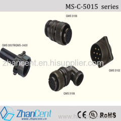 maojwei ms5015 military connector and zhancent ms-c-5015 connector