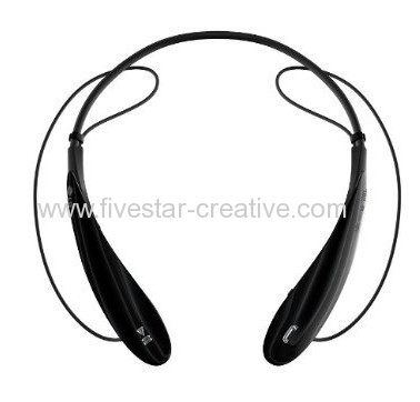 LG Tone HBS-800 Bluetooth Stereo Headsets with Noise Cancelling LG HBS800 Black