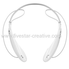 LG Mobile HBS-800 White Bluetooth Noise Cancelling Stereo Headset HBS-800