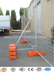 temporary fence panels;temporary modular fence;welded mesh temporary fence