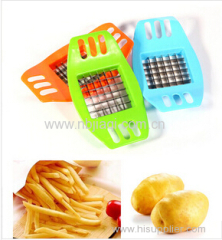 The kitchen s s manual potato bar cutting machine easily