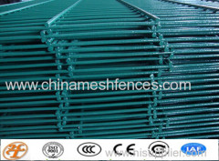 double rod wire fence panel