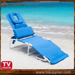 Ergonomic Beach Lounge Chair Economical Beach Equipment