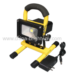 Rechargeable 5W COB Protable Led Flood Light With Holder