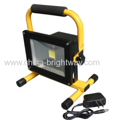 Warterproof Rechargeable 20W Led Floodlight Fixture With Stand