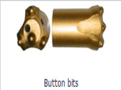 Button bit (weld by induction) go to Neutral and brittle rock