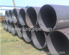 Large diameter ASTM A106 A53 Seamless Steel Pipe