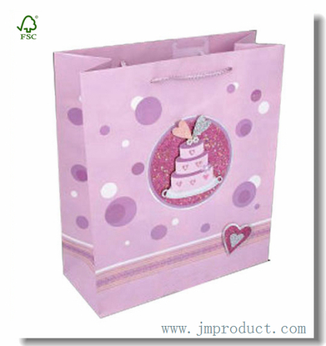 Large Birthday Cake Gift Bag For Kids