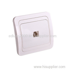 flush style telephone socket