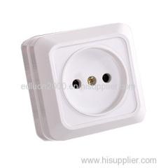 european flush wall socket with earthing