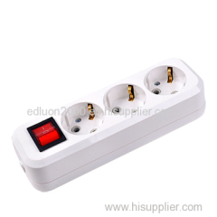 european extension socket with switch