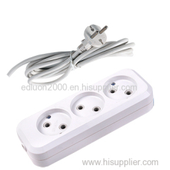 3 gang extension socket with wire