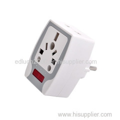 universal travel plug with fuse