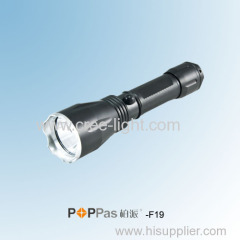 3 Brightness Levels CREE XP-E R2 High Power Rechargeable LED Flashlight POPPAS- F19