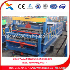 double layer roof sheet roll forming machine china manufacturer