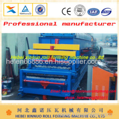 china manufacturer double layer roll forming machine botou