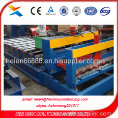 russia popular type glazed type roll forming machine china manufacturer