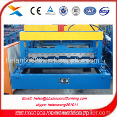 russia popular type glazed type roll sheet forming machine china manufacturer