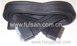 21 pin flat SCART TO SCART Cable