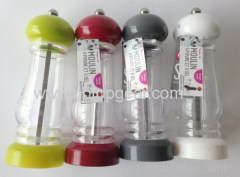Plastic pepper salt mill