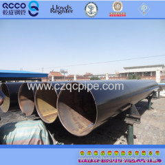 API 5L B ERW steel pipe with 3PE Coating