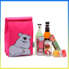 Lovely animal printing children cooler bag lunch box kids school bags