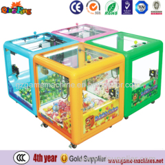 Magic cube hot sale toys crane machine