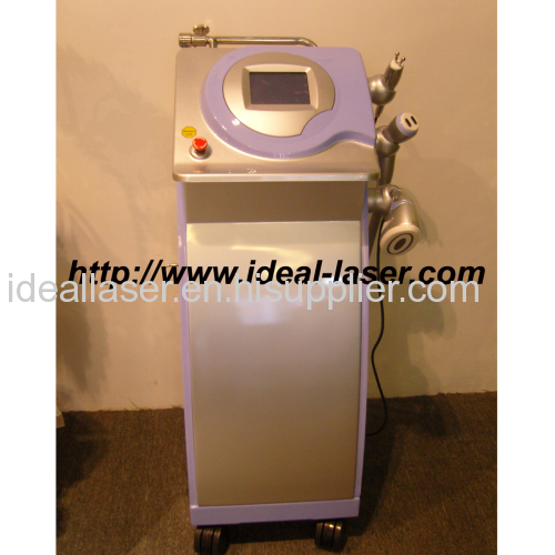 RF beauty machine for skin tightening and body slimming